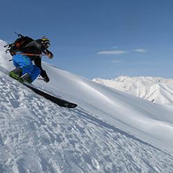 Ski in Dizin Slopes